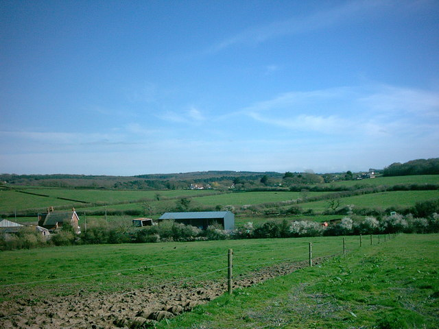 Farmland near Great Thorness