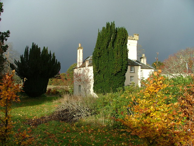 Rear View of Moniack Castle Winery
