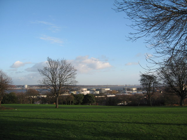 Vista from Mersey Park, Tranmere