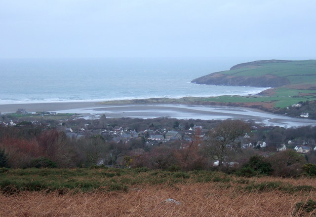 January afternoon view towards the estuary