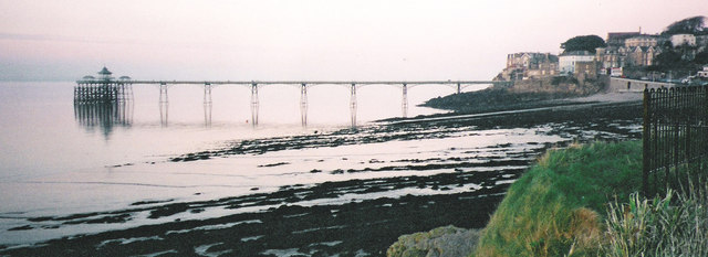 Clevedon pier from the south