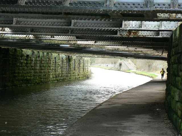 Railway bridges over the Leeds and Liverpool Canal