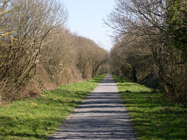 Cycle Path past RAF Chivenor