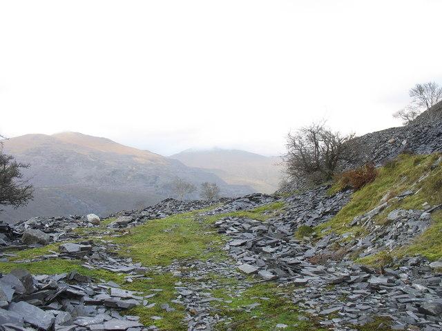Rubbish runs at Caermeinciau Quarry