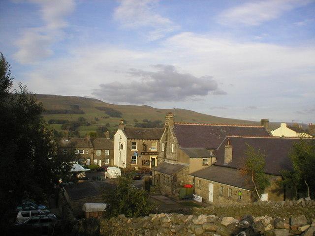 View of Hawes, Wensleydale