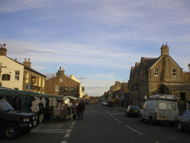Market Day in Hawes