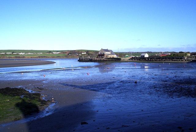 Low tide at Trefdraeth/Newport