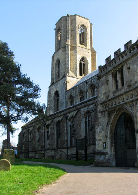 St Mary & St Thomas, Wymondham, Norfolk