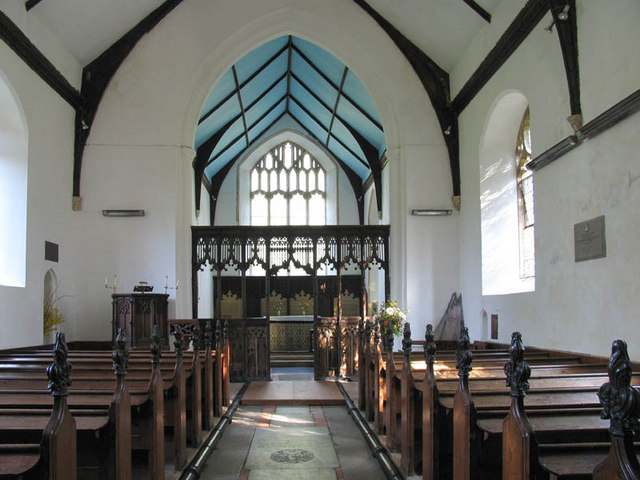 S Peter & S Paul, Barnham Broom, Norfolk - East end