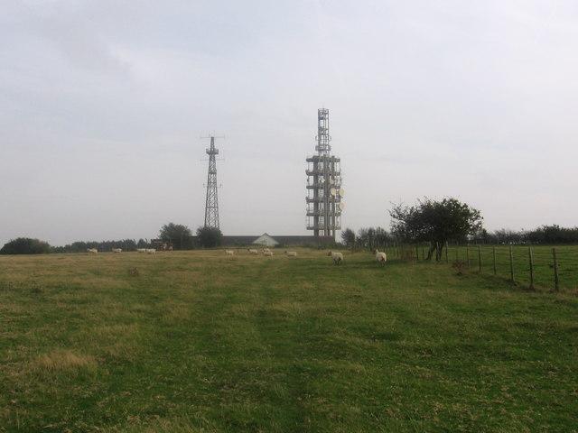 North Downs Way at Tolsford Hill