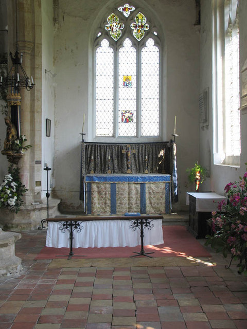 Our Lady St Mary, South Creake, Norfolk - South chapel