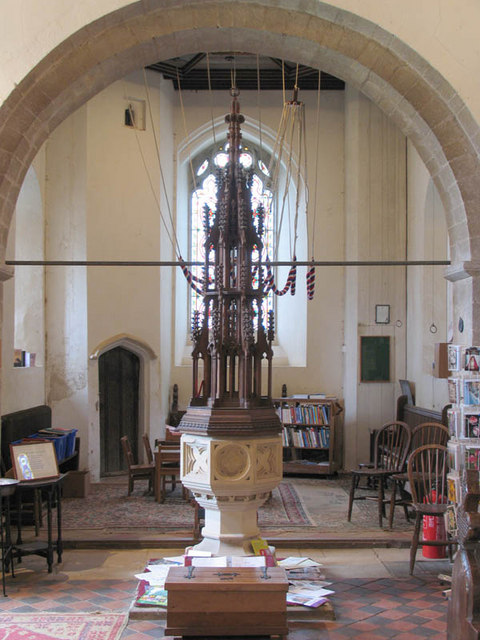 Holy Trinity, Stow Bardolph, Norfolk - Font