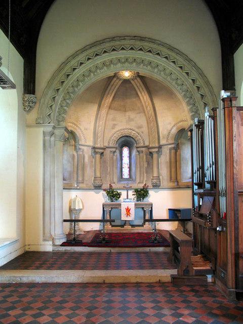 St Mary, Wimbotsham, Norfolk - Chancel