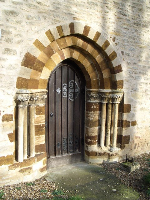 St Michael's Church Doorway at Farndish