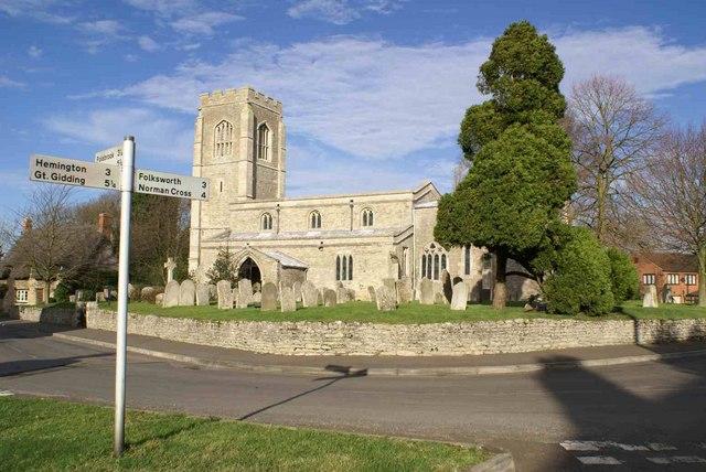 Lutton Church St Peter