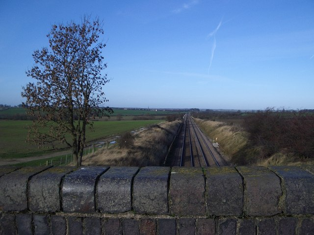 Railway Track West of Wymington
