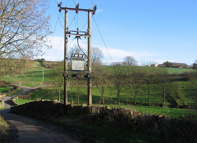 Bottom end of Beresford Lane, Woolley Moor