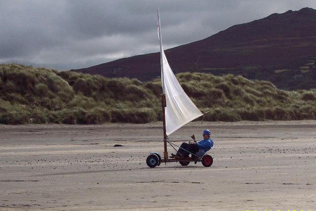 Sand Yachting on Newport Beach
