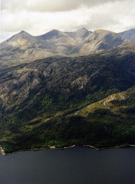 View of Beinn Eighe