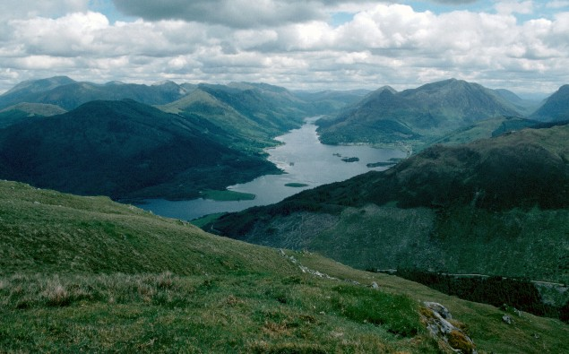 Loch Leven from Creag Gorm