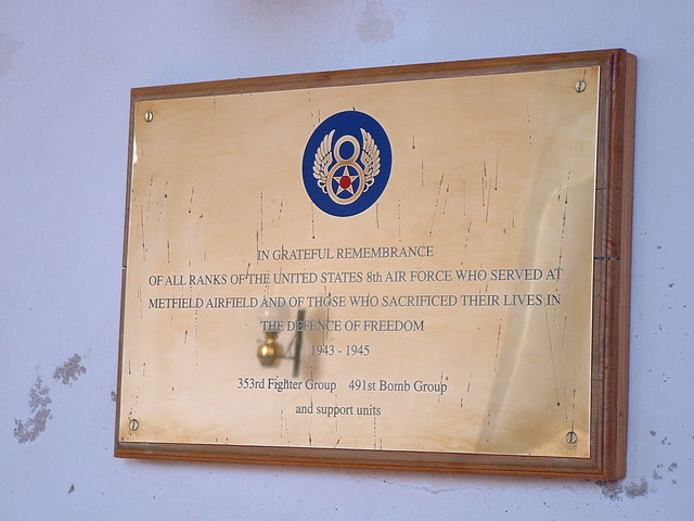Memorial To U.S.A.A.F.