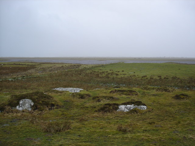 View over the fields to An Fhaodhail