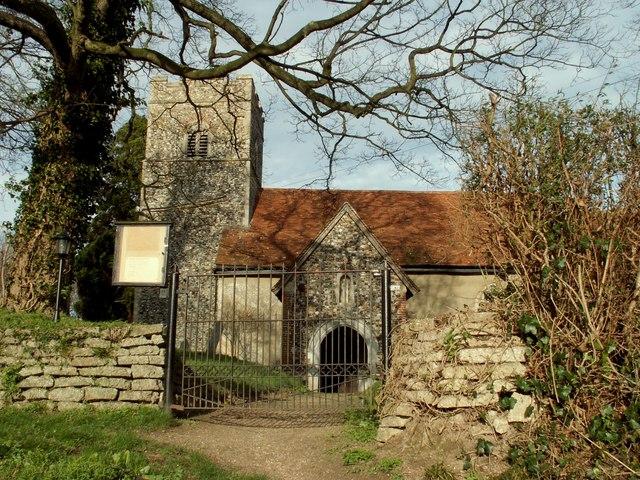 St. Mary's church, Little Blakenham, Suffolk