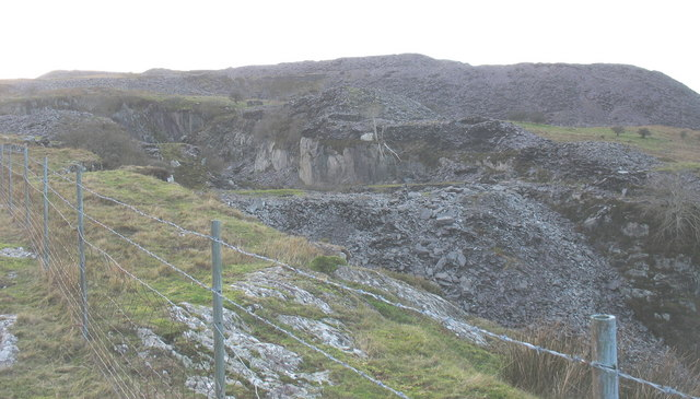 The western part of the Cook quarry pit