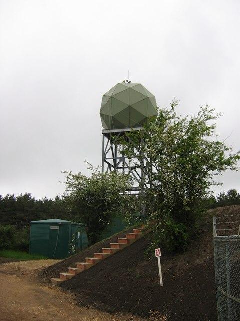 Wardon Hill Weather Radar