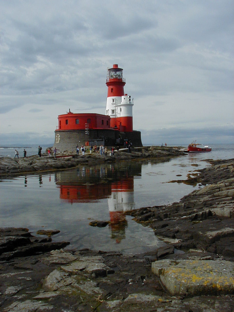 Lighthouse on the Farne Islands