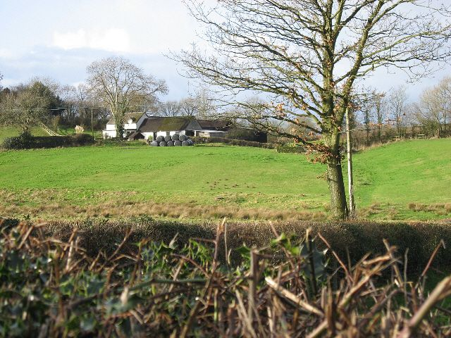 Farmhouse, Barn And Land