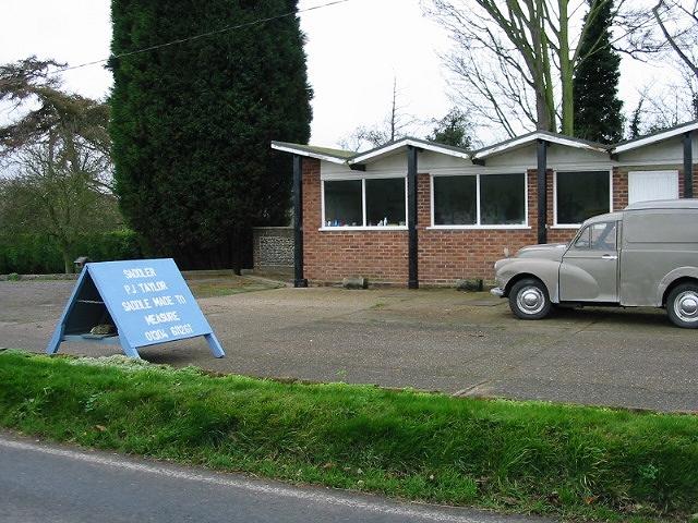 Sadlers workshop, Dover Road, Tilmanstone.