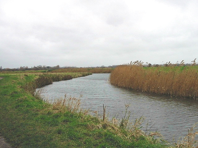 View along the North Stream, Sandwich Bay.