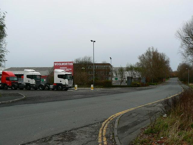 Woolworth's Swindon Distribution Centre, Faraday Road, Swindon