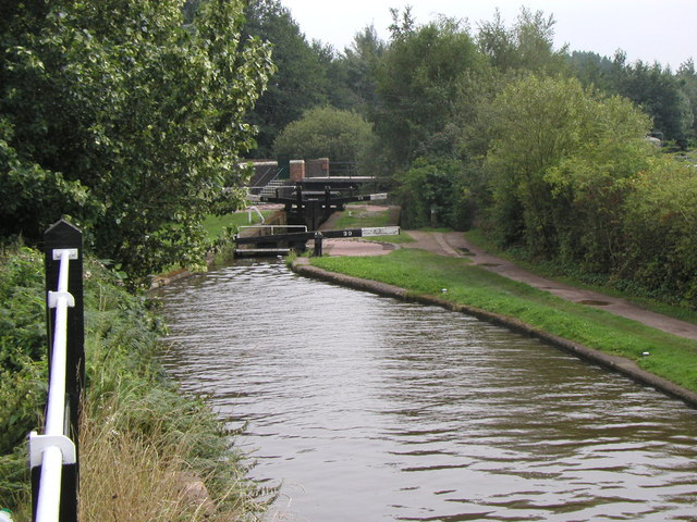 The view from Stoke Top Lock