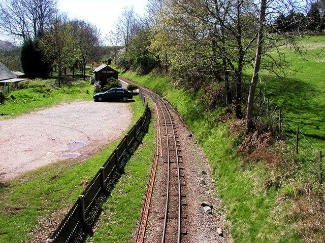 Eskdale Green Station on the Ravenglass & Eskdale Railway