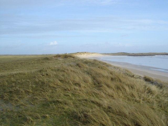 Beach machair boundary