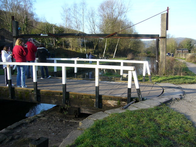 Swing Bridge No 2 Cromford Canal