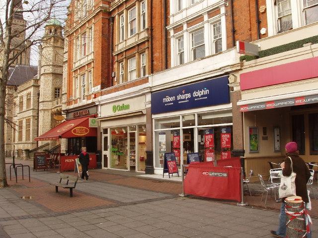 Shops, New Broadway, Ealing