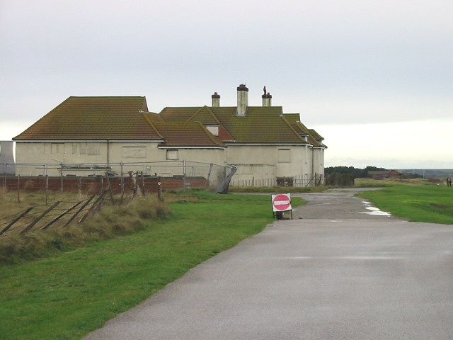 The old Prince's Golf club house.