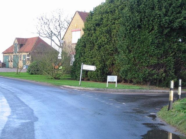 Kingsland Farm at junction with Overland Lane.