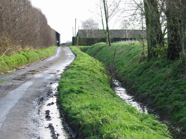Overland Farm at the end of the lane.