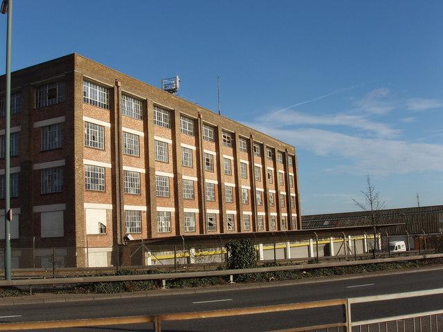 Warehouse opposite Park Royal station