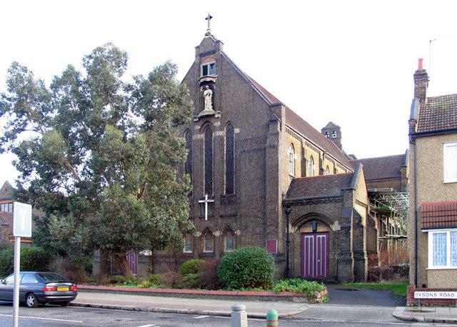 St Mary w St John, Dysons Road, Edmonton, London N18