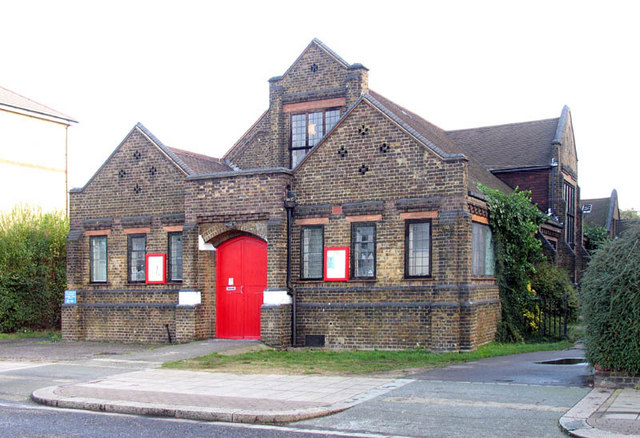 Hall next door to St Mary w St John, Dysons Road, Edmonton, London N18