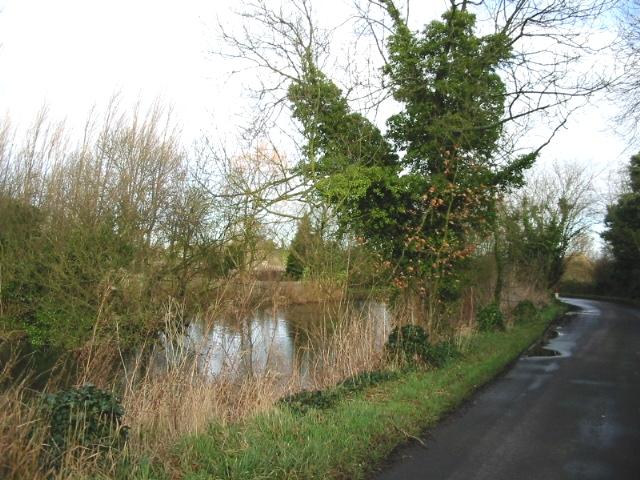 Pond at Poulders Farm.