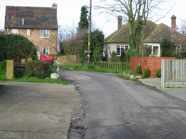 School Lane, East Stourmouth.