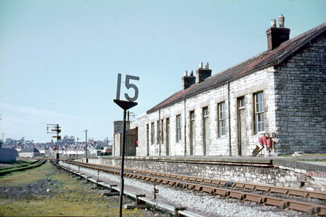 Priory Road Station, Wells