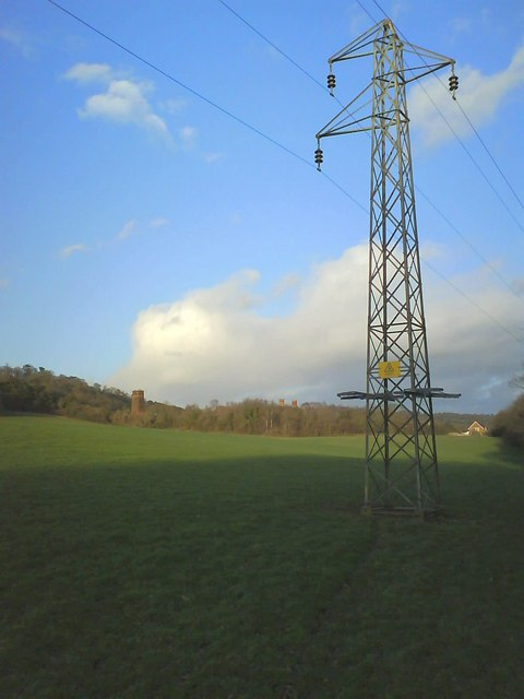 Power Lines at Betchworth