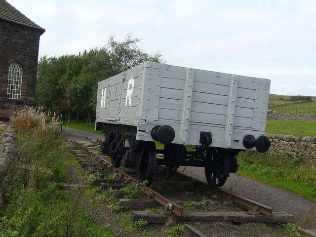 Preserved  Truck  At Middleton Top